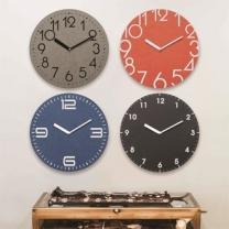 [벽시계]친환경컬러보드벽시계