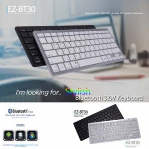 [이어폰/블루투스]EZ-BT30 블루투스 키보드