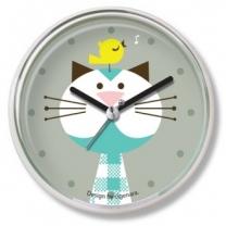 [욕실/방수시계]애니멀욕실시계_고양이와병아리