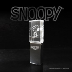 SNOOPY Led USB 8G Crystal