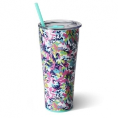 Swig 22oz(650ml) Tumbler-Frilly Lilly